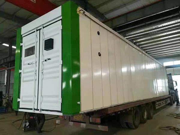 移动式集装箱式污水处理设备