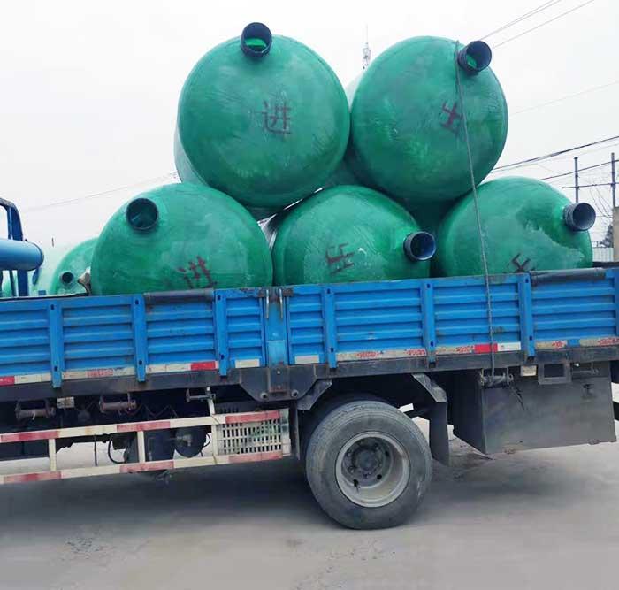 安徽环保玻璃钢化粪池